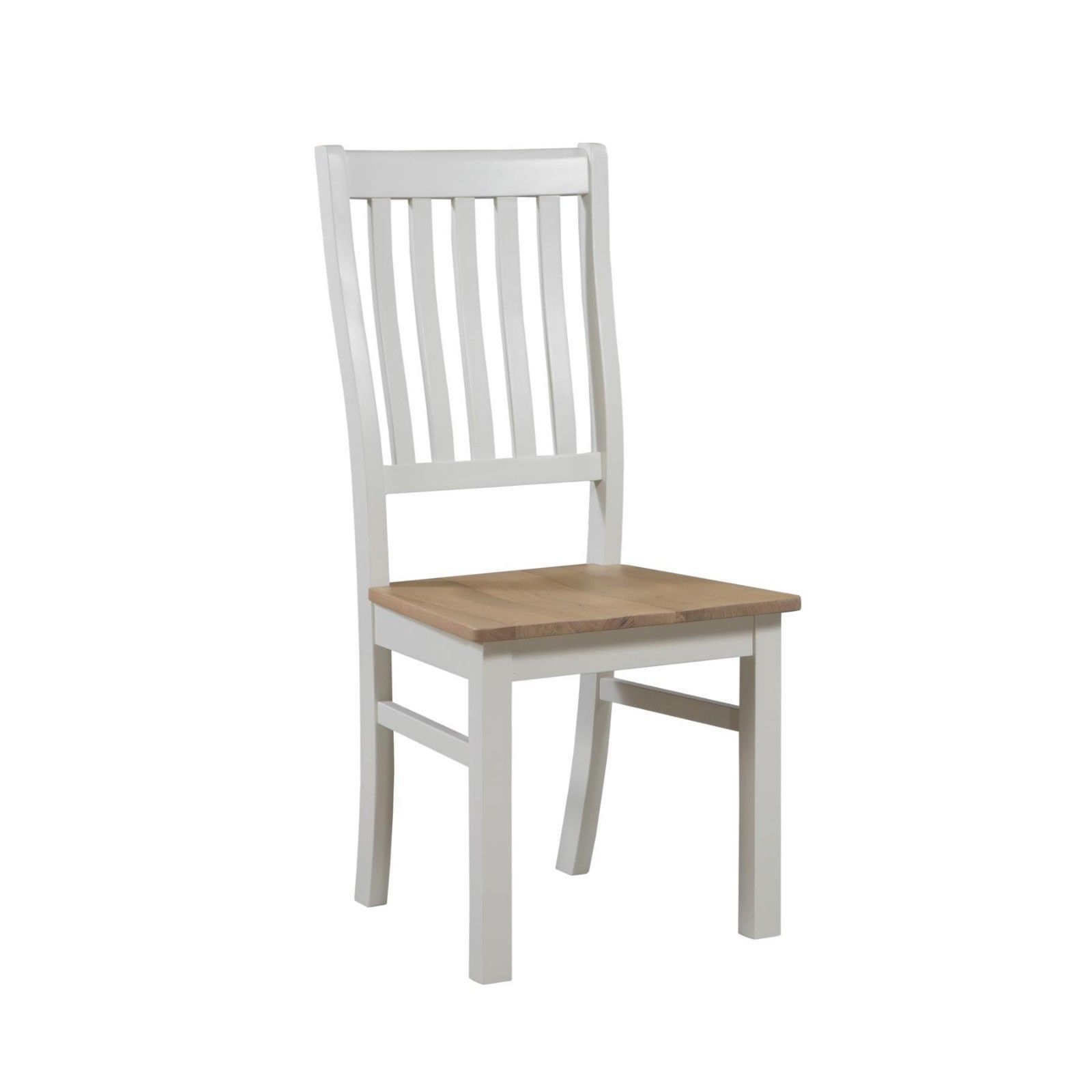 Image Is Loading Off White Country Antique Oak Dining Kitchen Chair